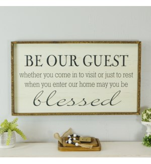 """WD. SIGN """"GUEST"""""""