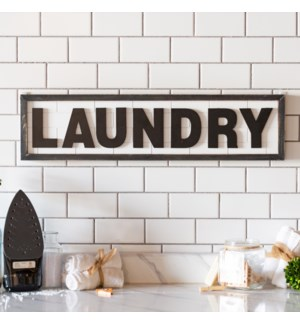"WD.SIGN ""LAUNDRY"""
