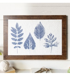 WD. SIGN BOTANICAL PRINT