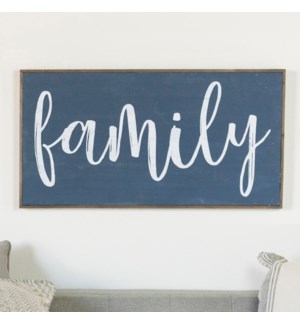 "WD. SIGN ""FAMILY"""