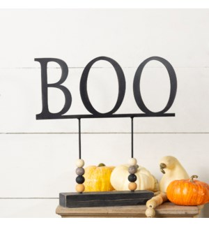 "MTL. SIGN ""BOO"""