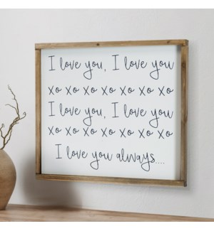 """WD. SIGN """"I LOVE YOU"""""""
