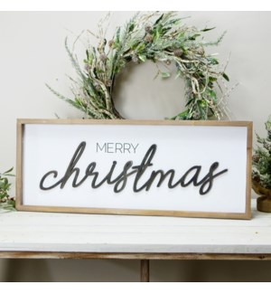 """WD. SIGN """"MERRY CHRISTMAS"""""""