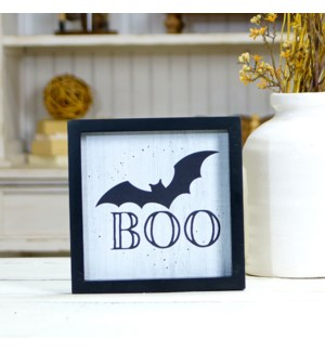 """WD. SIGN """"BOO"""""""