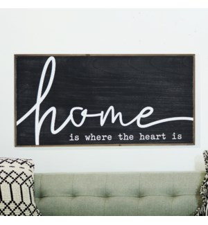 """WD. SIGN """"HOME"""""""