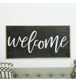 """WD. SIGN """"WELCOME"""""""
