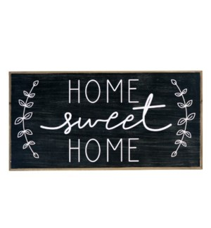 """WD. SIGN """"HOME SWEET"""""""