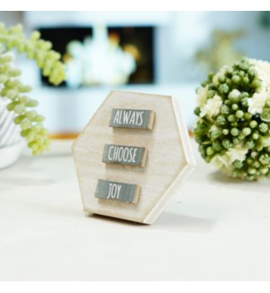 """WD. TABLETOP SIGN """"ALWAYS"""""""