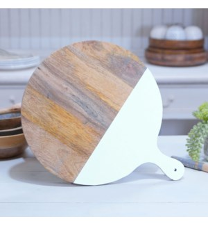 WD. CUTTING BOARD - WHT.