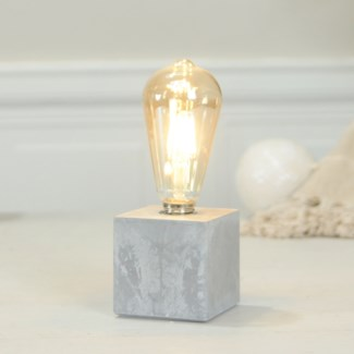 DECORATIVE  LIGHT W/ CEMENT BASE (6/cs)