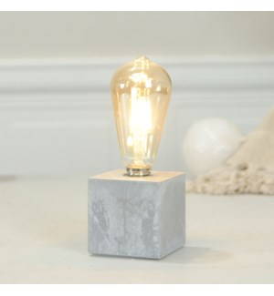 DECORATIVE  LIGHT W/ CEMENT BASE