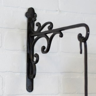 MTL. PLANTER HOOK - DECORATIVE (16/cs)