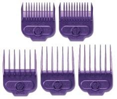 Small Magnetic Purple Guide Comb 5pc