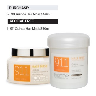 ! 6+1 BIO Quinoa Hair Mask Intro ND18