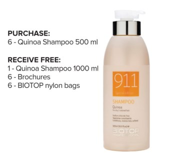 ! 6+1 BIO Quinoa Shampoo Intro ND18