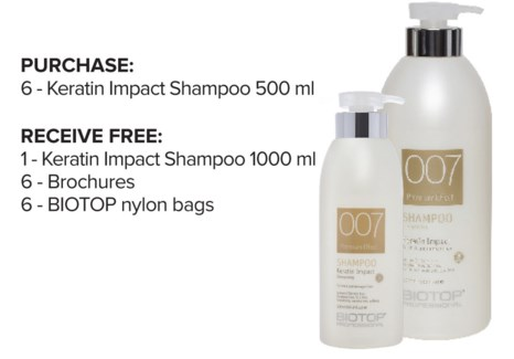 ! 6+1 BIO Keratin Shampoo Intro ND18