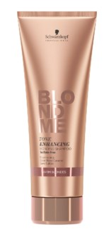 NEW BM 250ML ENHANCE SHAMP WARM BLONDE