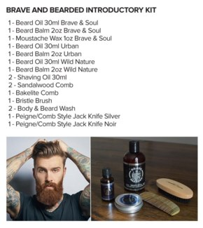 ! BRAVE AND BEARDED INTRODUCTORY KIT