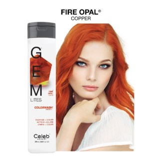 244ml Gemlites Fire Opal Shampoo 8.25oz