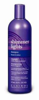 473ml Shimmer Light Blue Shampoo 16oz