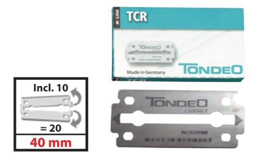 TCR Blades 10pc per Box 1020TCRC