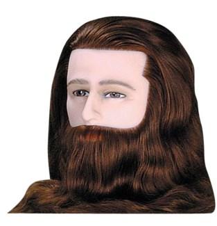 """Deluxe Man Mannequin 14"""" BEARD"""