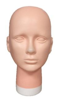 Plastic Mannequin Head 5-M BLOCK