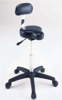 Black Bicycle Seat Stool Hydrau