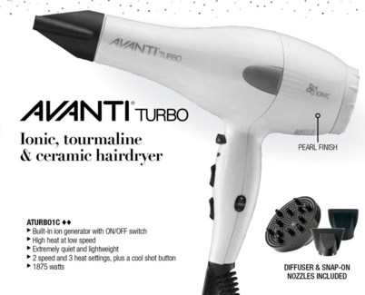 Avanti Turbo Hair Dryer WG