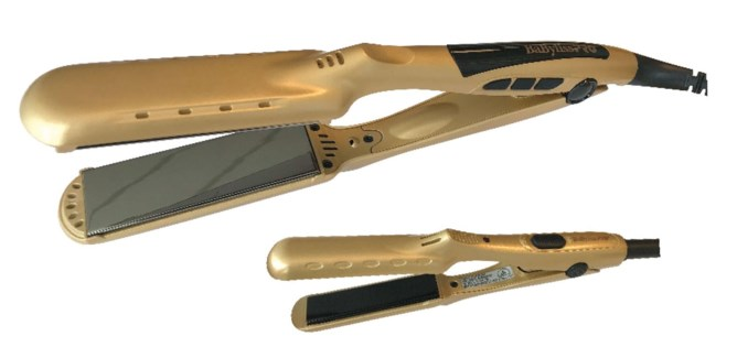 "Babyliss 1 3/8"" GOLD Digital Flat SOG"