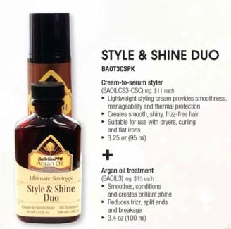 Argan Style & Shine Duo LE SOC13