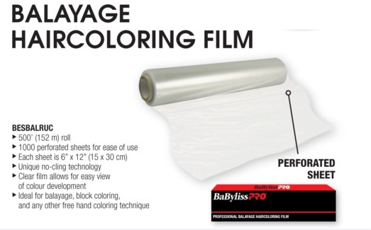 BALAYAGE Hair Coloring Film