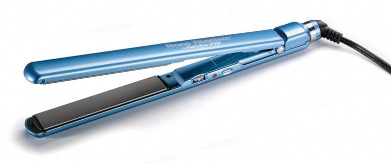 "$BF Babyliss Blue 1""Ultra Slim Flat Iron"