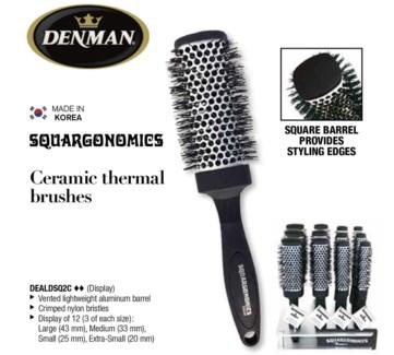 12pc Squargonomics Brush Display WG