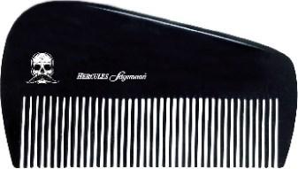 "Hard Rubber Beard Comb 3.5"""