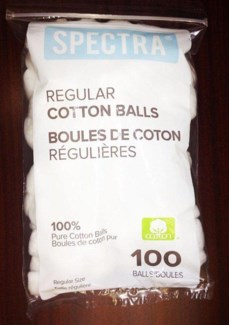 Spectra Cotton Balls 100bag