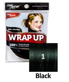 $BF HH #1 Black Wrap Up Bun EXTENSION