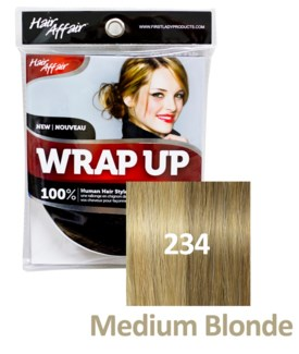 HH #234 Medium Blonde Wrap Up Bun EXTENS