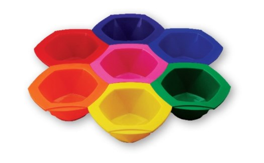 Foil It Connect & Color Bowls RAINBOW
