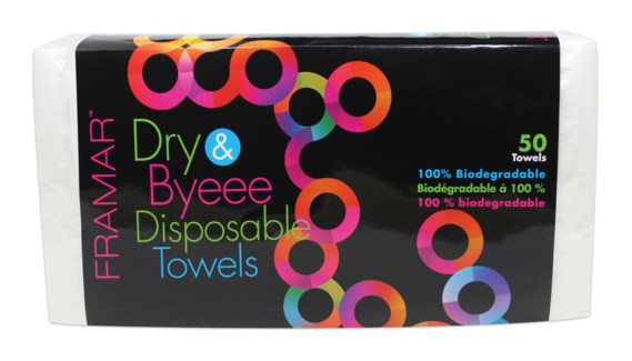 Foil It Dry & Byeee Towels 50pk