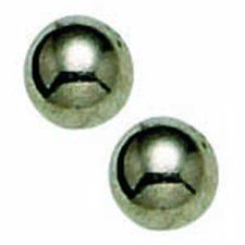 Titanium 4mm Ball Long Post EARRING