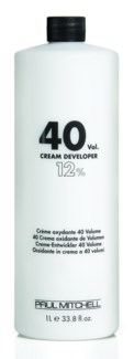 Litre 40 Vol Cream Developer PM 32oz