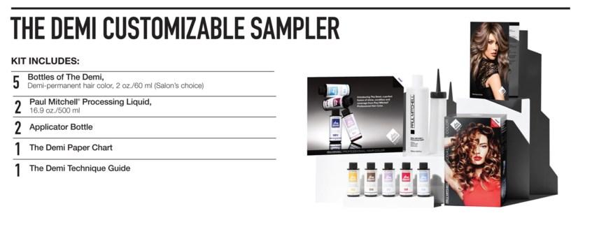 The Demi Sampler Kit PM CHOOSE5COLOR
