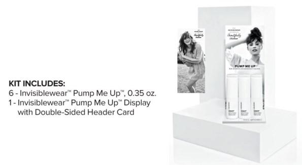 INVISIBLEWear Pump Me Up Display 2018