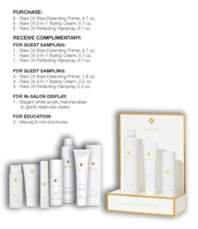 MARULAOIL Luxury Salon Kit