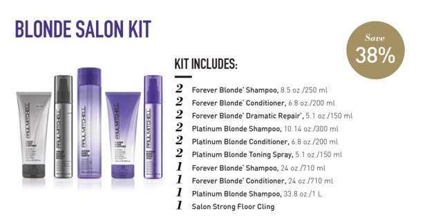 Forever Blonde Salon Starter Kit PM