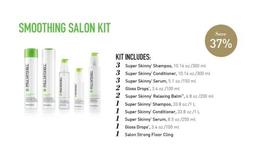 Smoothing Salon Starter Kit PM