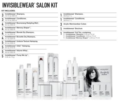 INVISIBLEWear Salon Kit 2018 PM