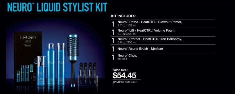 $BF    NEURO Liquid Blowout Stylist Kit