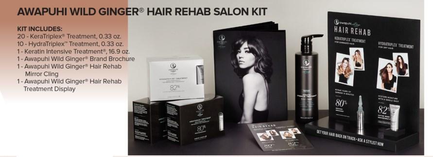 $BF AWG Hair REHAB Salon Kit MA18